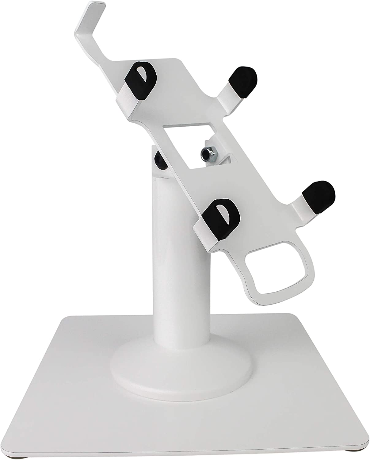 DCCStands Freestanding Swivel and Tilt Pax A920 Terminal Stand (White)