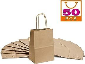Brown Kraft Paper Bags 5.25