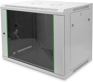 DIGITUS Professionnel Dynamique Basic Series DN-19U EC 9HE Placard mural/09Boîtier RAL 7035/505, 1x 600x 450mm/Gris