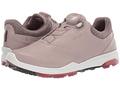 ECCO Golf Biom Hybrid 3 Boa (Grey/Rose Petal) Women