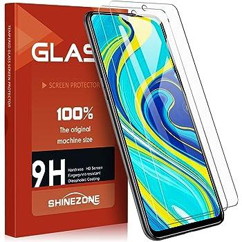 SHINEZONE Xiaomi Redmi Note 9S / Redmi Note 9 Pro/Redmi Note 9 Pro Max ガラスフイルム【 2枚セット】 強化ガラス液晶保護フィルム 日本旭硝子製 防指紋 透過率99.9%