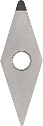 American Carbide Tool Polycrystalline Diamond Tipped Insert 3//8-Inch IC Size PCD13 Grade TPG-322 Style