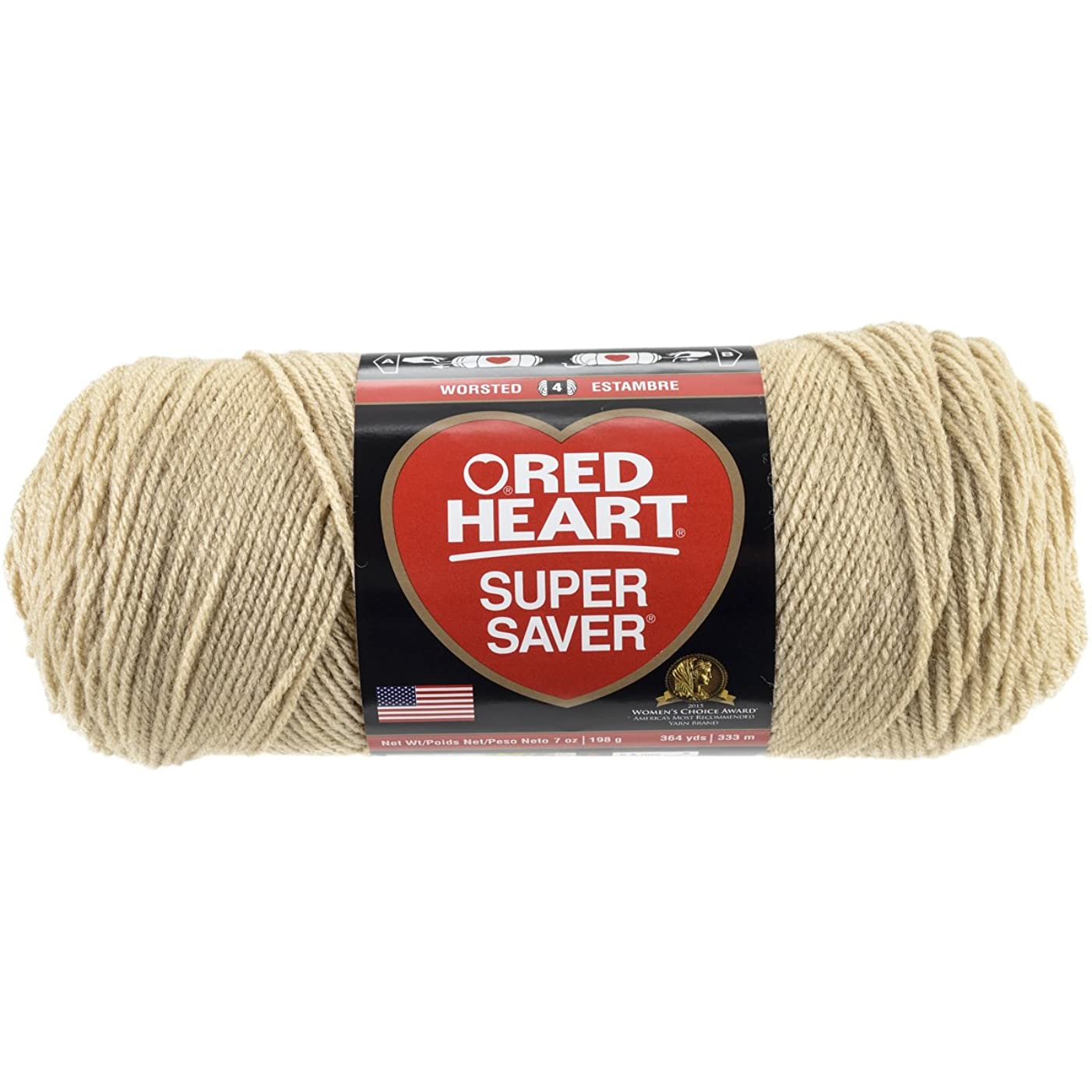 RED HEART Super Saver Yarn, Buff