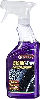 Mafra H0494, zwart 3Plus, bandenvernieuwing en gepolijste spray, auto-neumatische bescherming, niet vettig en zonder marke...