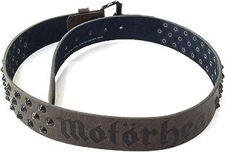 Motorhead Studded Brown Leather Belt