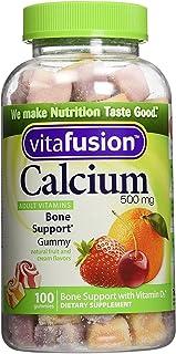 Vitafusion - Calcio con vitamina D3. 100 unidades (2 unidades)