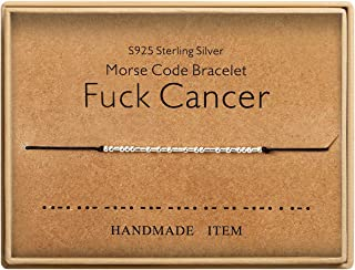 fuck cancer bracelet