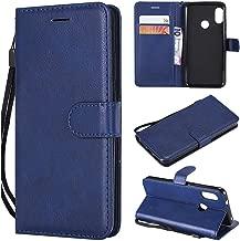 Xiaomi Redmi 6 Pro Case / Mi A2 Lite Case / Premium PU Leather Flip Phone Cases Wallet Protective Cover For Xiaomi Redmi 6 Pro / Mi A2 Lite 5.84 Inch [NOT for Xiaomi Redmi Note 6 Pro] Deep Blue