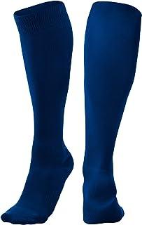 CHAMPRO Pro Socks, Single Pair, Adult Small, Navy (AS1NY-S)