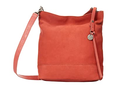 Lucky Brand Lina Small Bucket (New Coral) Handbags