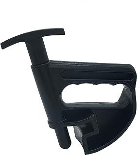 Caixa com 5, grampo de pneu, braçadeira sem mãos, ferramenta de depressão de miçangas de grampo universal para o trocador ...