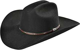 Men's George Strait Kingman 6X Fur Felt Cowboy Hat - Kgmn-5240 Black