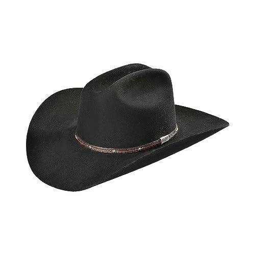 465a6dd62 Resistol Men's George Strait Kingman 6X Fur Felt Cowboy Hat