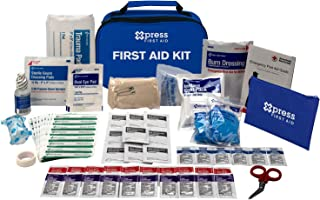 Xpress First Aid 89 Piece First Aid Kit, ANSI/OSHA Compliant