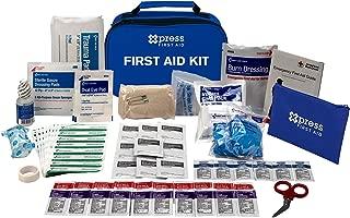 Xpress First Aid 89 Piece First Aid Kit, ANSI/OSHA Compliant