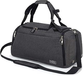 CySILI® Reisetasche Sporttasche mit Rucksack-Handgepäck mit Schuhfach - Nassfach & Zahlenschloss - Männer & Frauen Fitness...