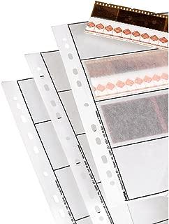 Hama 2256 Negative File Storage Sleeves, Each Holding 4 Strips of 4 (24 x 36 mm) Frames, Glassine (Pack of 25)