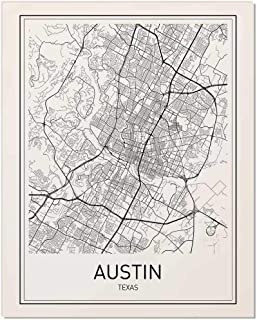 texas map black and white