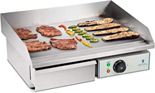 Royal Catering Plancha Grill Electrica Fry Top Parrilla