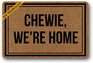 chewie we're home mat