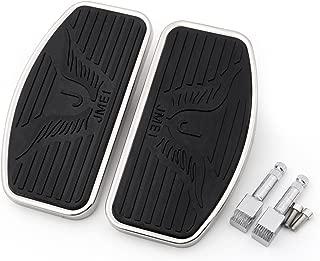 Areyourshop Front or Rear Floorboard Footboard for VTX 1800 1300 Suzuki VL800 VL400 (Eagle Pad)