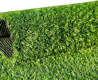 YNFNGX Artificial Turfgrass 15mm Pile Encryption Grass Carpet Garden Pet Mat Dog Lawn Outdoor Decoration (1M * 2M) (Size :...