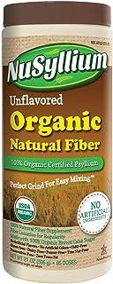 Nusyllium Organic Fiber, Unflavored, 85 Servings