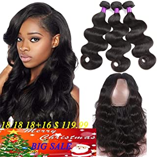brazilian 360 lace frontal with bundles