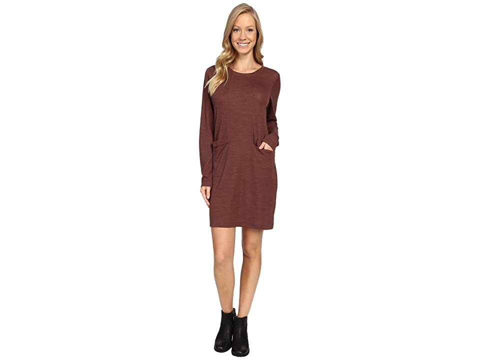 NAU Randygoat Lite Shift Dress (Redwood Heather) Women
