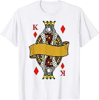 King of Diamonds Playing Cards Halloween Costume Shirt