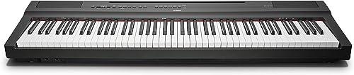 Yamaha P-125 piano numérique avec 88 touches – Compact, transportable et élégant – Compatible avec l'application Smar...