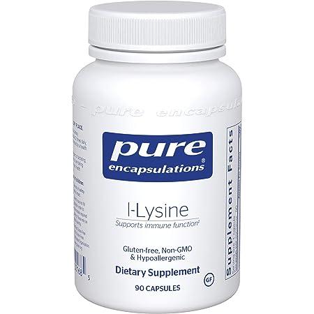 Pure Encapsulations L-Lysine | Amino Acid Supplement for Immune Support and Gum Health* | 90 Capsules