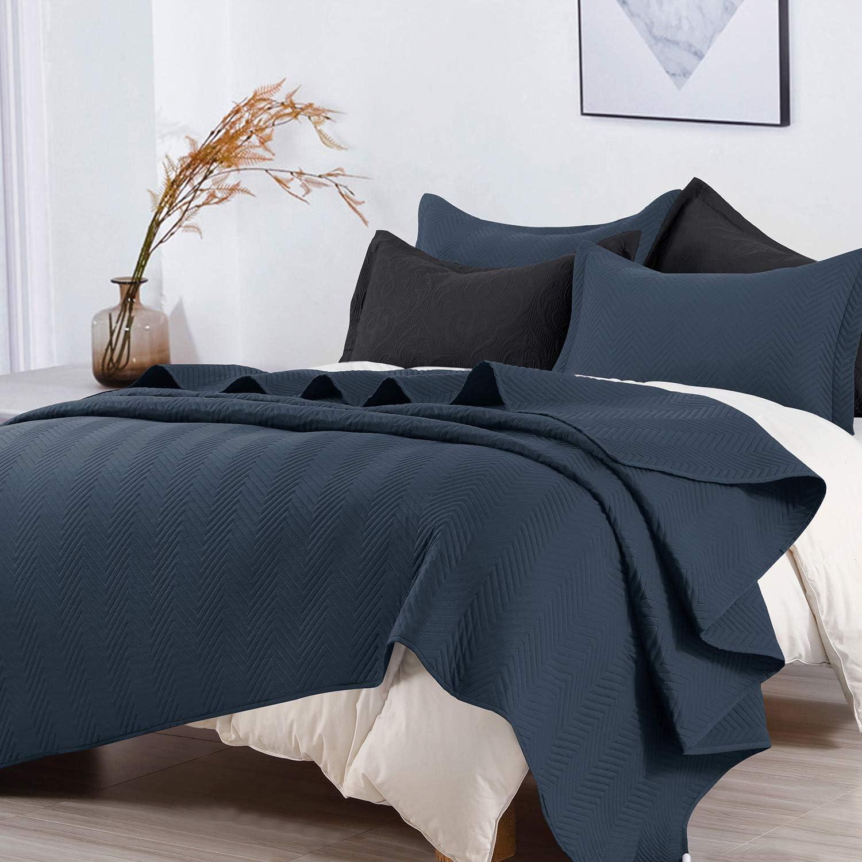 Max 55% OFF BEDELITE King Quilt Set - Baltimore Mall Size Autumn Lightweight Bedspread