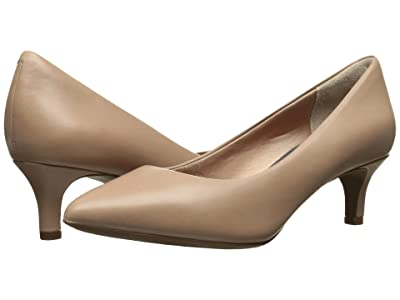 Rockport Total Motion Kalila Pump (Warm Taupe Calf) High Heels