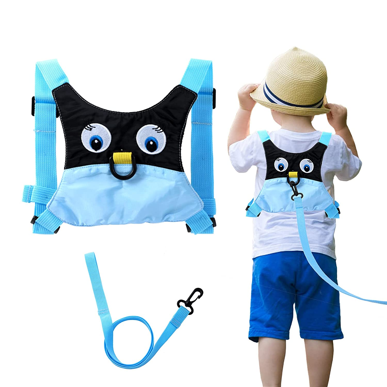 Baby Anti Lost Safety Walking Harness Toddler Safety Leash for Babies & Kids Boys and Girls(Blue)