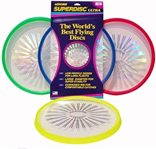 Aerobie Superdisc ULTRA Outdoor Flying Disc - Colors May Vary