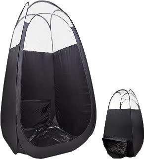AW Pop Up Black Airbrush Sunless Spray 45x45x83