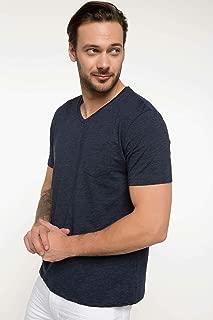 Defacto Erkek Tişört V Yaka T-Shirt