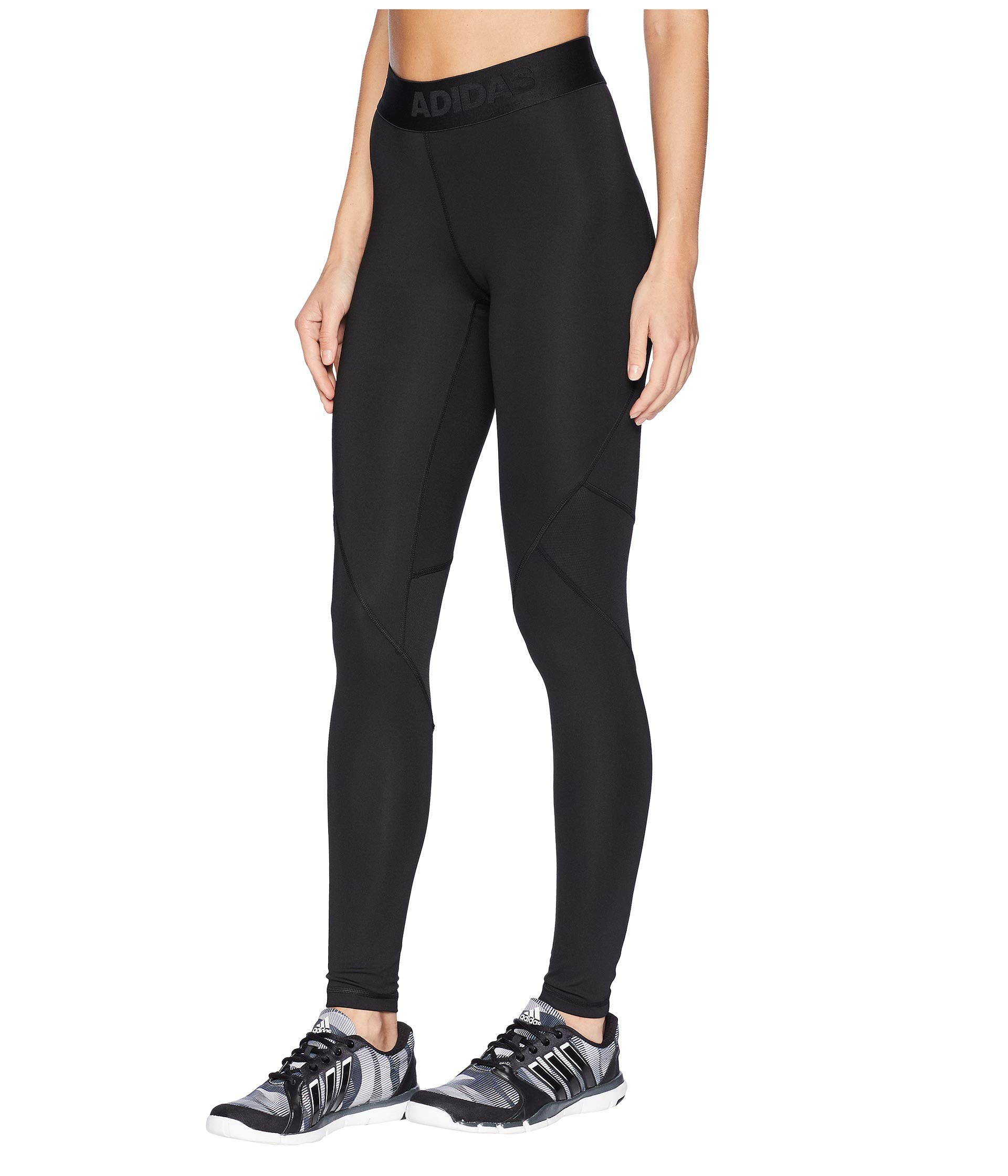 Tights Long Adidas Alphaskin Black Sport qaTUgTxWw1