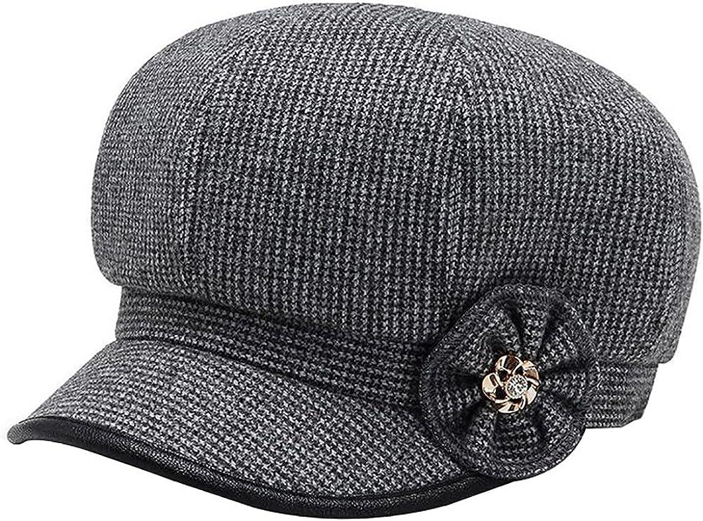 Newsboy Cap Topics specialty shop on TV Summer Flower Trim Hats Cancer for Head Cotton Women
