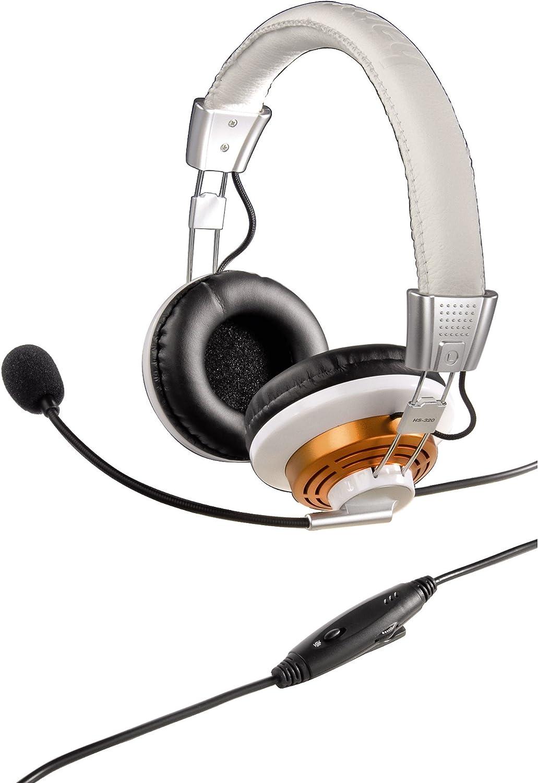 Hama Pc Headset Hs 320 Weiß Computer Zubehör