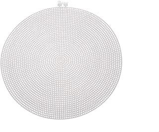 Darice Bulk Buy DIY Plastic Canvas Shape Circle 9-1/2 inches (12-Pack) 33027