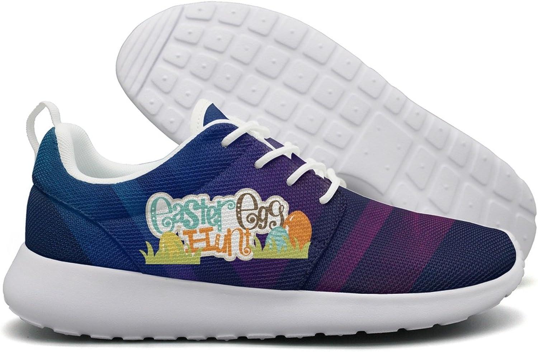 Easter Egg Hunt Womens Flex Mesh Lightweight Running shoes