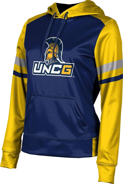 University of North Carolina at Greensboro Girls' Pullover Hoodie, School Spirit Sweatshirt (Old School)