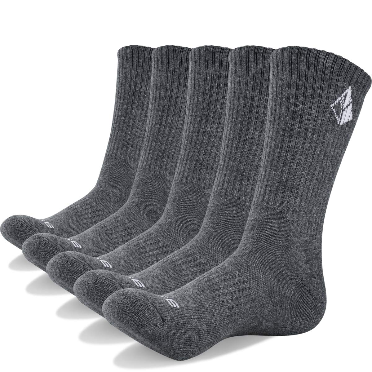 Mens Cotton Crew Outdoors Trekking Hiking Socks