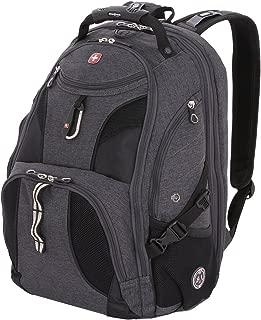 SwissGear SA1923 Slate Cement TSA Friendly ScanSmart Laptop Backpack - Fits Most 15 Inch Laptops and Tablets