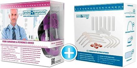 Andropeyronie Comfort: Medicinsk penisförlängare för Peyronies sjukdom och alla böjda eller böjda penisar. Behandling för ...