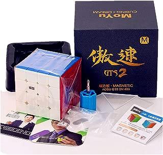 Liangcuber Moyu Aosu GTS2 M 4x4 Stickerless Speed Cube Moyu Aosu GTS V2 Magntic 61mm Cube Puzzle