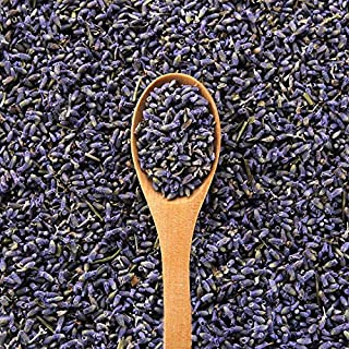 EarthWise Aromatics French Lavender Flowers - 100% Natural - 1 lb - Bright Purple