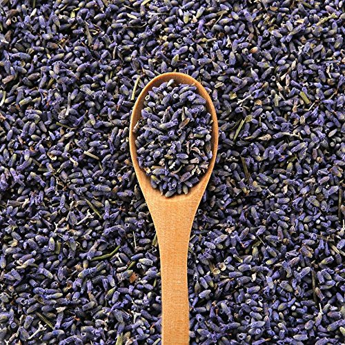 EarthWise Aromatics French Lavender Flowers - 100% Natural - 1 lb (16 oz) - Bright Purple